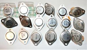 18 x    Transistoren BU546/2N3055/25C2261/BU208/AD150/AD149/AD133