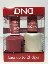 DND DAISY GEL UV NAIL POLISH - DUO SET( Gel + Lacquer) 490 - Redwood City