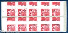 variété de piquage des timbres sur Carnet sagem 4197 C15 Beaujard