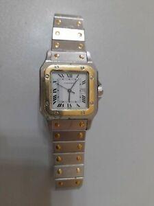 Cartier santos Automatik stahl gold
