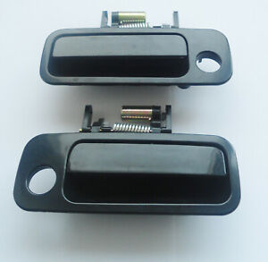 Fit 97-01 Toyota Camry Outside Exterior Front Left Right Side Door Handle 1Pair