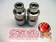 KAWASAKI Z1000SX 2011-2013  PADDOCK STAND BOBBINS SPOOLS M10 COTTON REELS r1d3