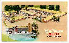 La Siesta Motel, El Centro, CA Postcard *228