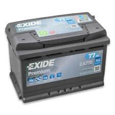 Exide Premium Carbon Boost EA770 77Ah 12V (einbaufertig)