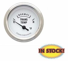 White Hot Series Transmission Temp Gauge - Classic Instruments WH27SLC