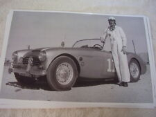 1950'S AUSTIN HEALEY 100 RACE CAR  11 X 17  PHOTO   PICTURE