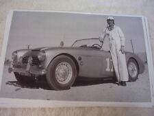 1950'S AUSTIN HEALEY 100 RACE CAR  11 X 17  PHOTO   PICTURE