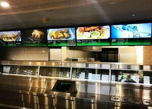 ⭐⭐⭐⭐⭐ digital advertising display LCD HD menu board animated menu ⭐⭐⭐⭐⭐