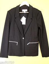 NWT MICHAEL Michael Kors Black Classy Suit Coat Jacket Elegant Blazer 10 $175