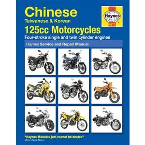 NEW Haynes Manual Chinese,Taiwanese,Korean 125cc Motorcycles