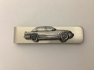 Ford Sierra Sapphire Cosworth ref84 pewter effect car stainless steel money clip