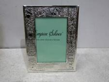 Empire Silver Heirloom Fine Sterling Silver Birth Record Frame, 4x6""