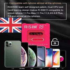 R-SIM15+ Nano Unlock RSIM Card for iPhone 11 Pro Max/11 Pro/XR/S/8/7/6 iOS13 Lot