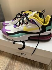 NIB Nike Air Max 270 React Size 8.5 Women's Running Shoes AT6174-101 Sold Out
