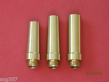 3 pc Treso Black Powder Flask Spout Set 30, 35 & 40 grain spouts Muzzleloading