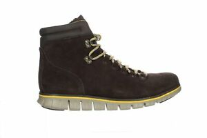 Cole Haan Mens Zerogrand Suede/Lemon Ankle Boots Size 11.5