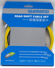 Shimano 105/5800 Tiagra/4700 RB OPTISLICK Coated Shift Cable Housing Set Yellow