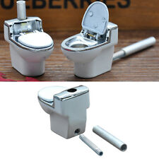 Cool Toilet Smoking Pipe Bowl Durable Smoke Cigarette Tobacco Cigar Collect MT