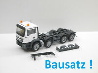 1:87 Herpa BAUSATZ MAN TGS Euro6 4achs weiß mit RKL für Umbau Eigenbau NEU