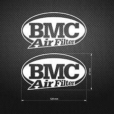 BMC AIR FILTER STICKER DIE CUT DECAL VINYL RACING 2 pcs