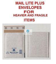 5 A000 White 110x160mm Mail Lite Plus Bubble Envelope for Heavier Fragile Item