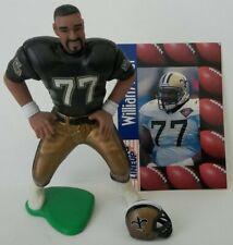 Loose Complete 1997 SLU Football William Roaf New Orleans Saints Action Figure