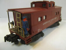 AMERICAN FLYER #642 Reefer with link Coupler