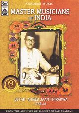 Ustad Ahmed Jaan Thirakhwa (Master Muscians of India Series )Music Audio CD