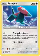 Carte Pokemon PORYGON2 156//214 REVERSE Soleil et Lune 10 SL10 FR NEUF