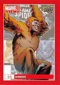 GIBBON / Marvel Annual 2019-20 BASE Trading Card #55