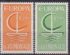 Monaco 1966 Europa Set UM Yvert 698-9 Cat 2.20 Euros