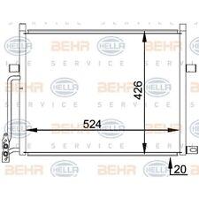 HELLA Kondensator, Klimaanlage 8FC 351 038-204 BMW