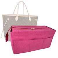 Bag Organizer for Louis Vuitton Neverfull GM (Detachable Zipper Top Cover)
