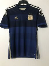 Adidas Argentina National Soccer Team Jersey Navy/Blue Sz S