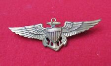 US NAVY AVIATOR PILOT WING USMC PIN BACK
