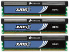 6GB (3x2GB) Corsair DDR3 Triple Channel Kit (PC3-12800) (CMX6GX3M3A1600C9)