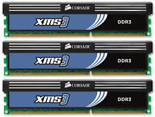 6GB (3x2GB) Corsair DDR3 Kit de canal triple (PC3-12800) (CMX6GX3M3A1600C9)