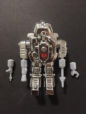 Gi Joe Black Major Elite Crystal SNAKE Armor Silver