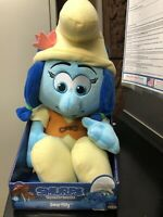 "SMURFS THE LOST VILLAGE SMURFLILY PLUSH STUFFED ANIMAL-21"" TALL - NEW IN BOX"