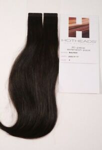 NEW Hotheads, Body Wave 20 Piece, Tape in Extantion, 10''-12'' # 3