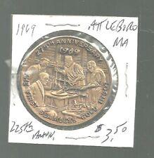 fl720mh - 1969 ATTLEBORO,MASS. Trade Token - 225th Anniversary