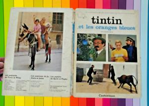 Les Aventures de Tintin et les Oranges Bleues 1965 casterman au cinema