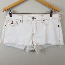 TRUE RELIGION |  Womens Joey cut off Denim shorts NEW [ Size AU 14 or US 32  ]