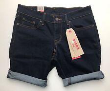 BNWT Levi's Bermuda Stretchable Shape Denim Shorts 25 Guaranteed Original