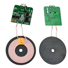Qi Wireless USB Charger PCBA Circuit Board + Coil DIY For iPhone Samsung HTC LG