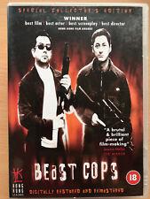 Anthony Wong BEAST COPS ~ 1998 Classic HKL Hong Kong Legends Rare UK DVD