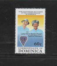 DOMINICA #1230  1989      GIRLS GUIDES  MINT  VF NH  O.G