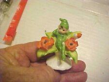Birthday Pixie Elf Figurine Napco 2 Inches