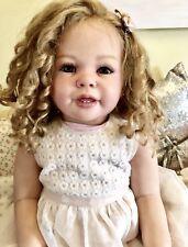CUSTOM MADE REBORN BABY GIRL TODDLER  KATIE MARIE ANN TIMMERMAN OOAK YOU CHOOSE