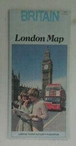 1979 British Tourist Authority London Map